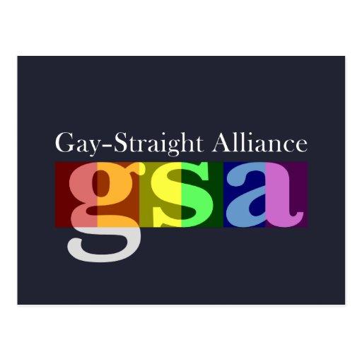 Postal oscura clásica de GSA