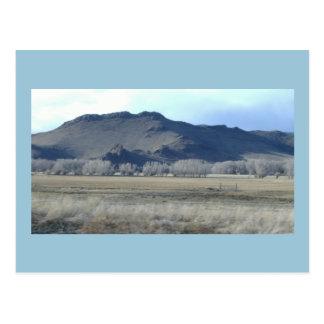 Postal oscura de la montaña de Colorado