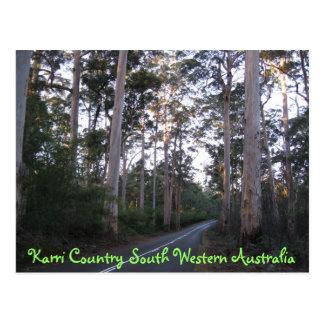 POSTAL - país Australia occidental del sur de