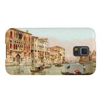 Postal Palazzo Franchetti, Venezia del vintage Carcasa Para Galaxy S5