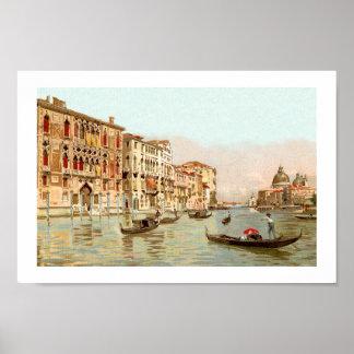 Postal Palazzo Franchetti Venezia Venecia del Impresiones