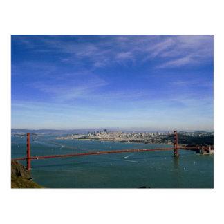 Postal panorámica del Golden Gate