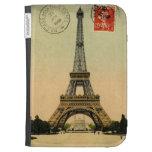 Postal París Francia de la torre Eiffel del vintag