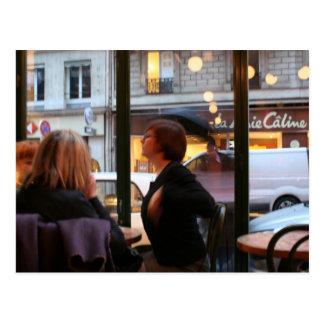 Postal parisiense de Rambuteau de la ruda de