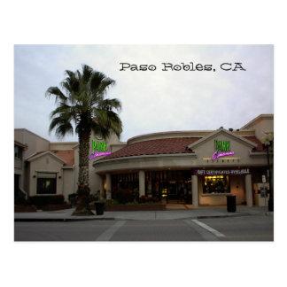 Postal, Parque-Cines, Paso Robles, CA Tarjetas Postales