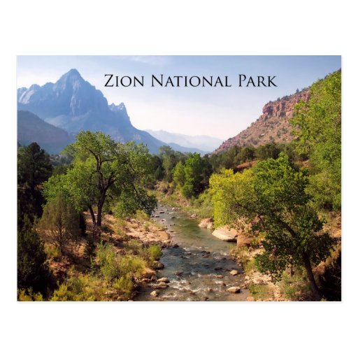 Postal:  Parque nacional de Zion, Utah