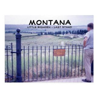 Postal pasada del soporte de Montana 1964