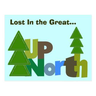 Postal-Perdido en el gran norte ascendente