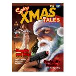 Postal picante de los cuentos de Navidad