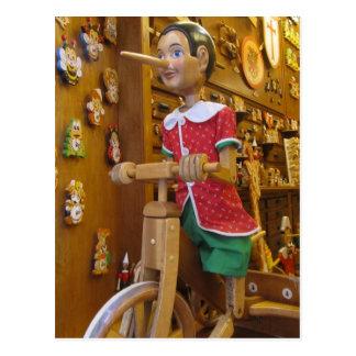 Postal--Pinocchio Tarjeta Postal
