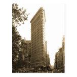 Postal plana de la foto de la bella arte del edifi