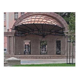 POSTAL - plaza céntrica de la ciudad de Chico
