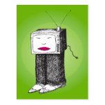 Postal portátil de la TV