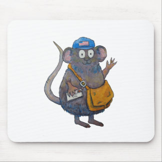 Postal Post Mail Carrier Postman Thank You Mouse Mouse Pad