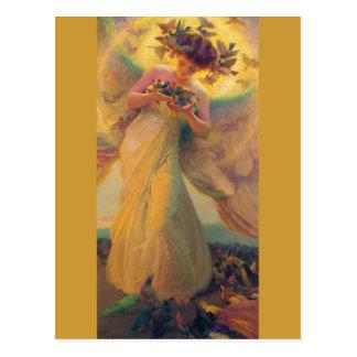Postal preferida del ángel de Francisco Dvorak