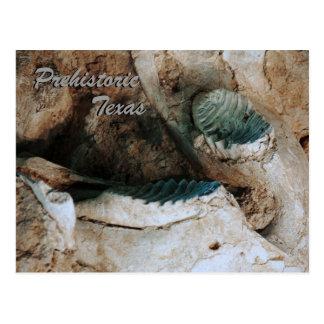 Postal prehistórica de Tejas