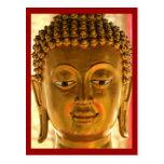 Postal principal de Buda del oro