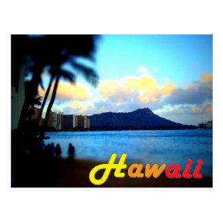 Postal principal del Hawaii-Oahu-Diamante