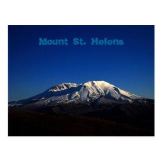 Postal profunda del Monte Saint Helens del cielo a