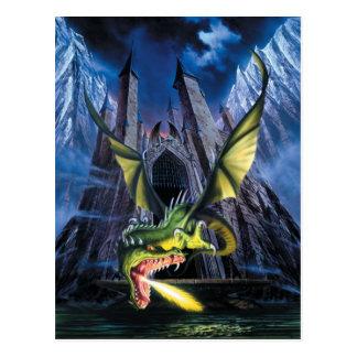 Postal provocada del dragón