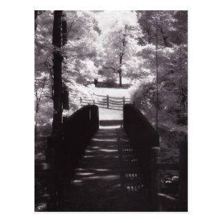 Postal - puente de la plantación de Mount Vernon