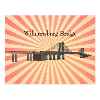 Postal: Puente de Williamsburg