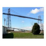 postal Puente transbordador de Rochefort mar