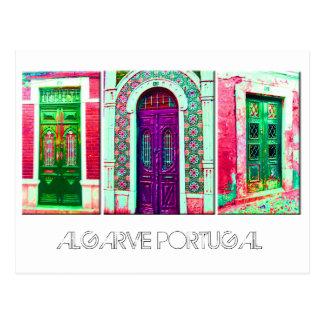 Postal: Puertas portuguesas
