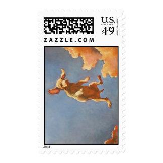 Postal Puppy Postage Stamp
