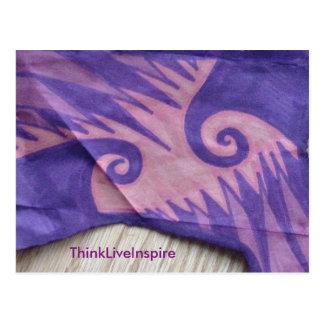 Postal púrpura del abismo