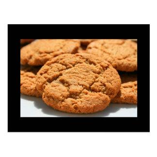 Postal rápida de las galletas del jengibre