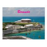 Postal real del astillero naval de Bermudas