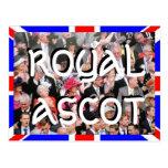 Postal real del jubileo de diamante del Ascot