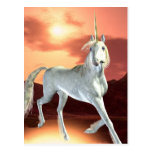 Postal real del unicornio
