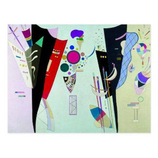 Postal recíproca de los acuerdos de Kandinsky