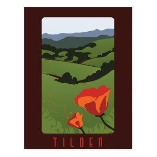 Postal regional del parque de Tilden