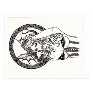Postal: Reina del dragón de Cyn Mc