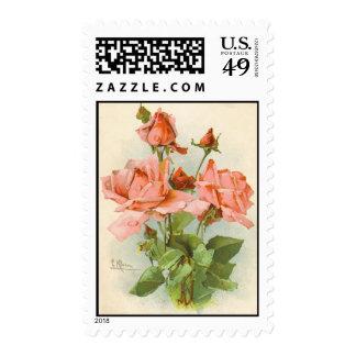 Postal ReproductionStamp del vintage de Catherine  Sellos