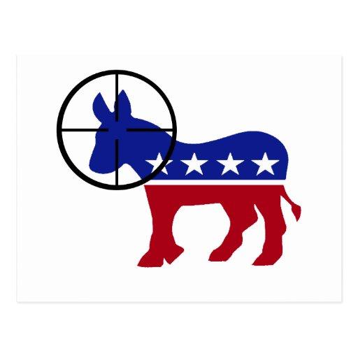 Postal republicana del tiro de la cabeza del franc