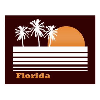 Postal retra de la Florida