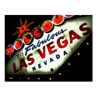Postal retra de la muestra de Vegas