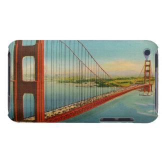 Postal retra de puente Golden Gate iPod Case-Mate Protector