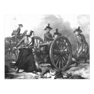 Postal revolucionaria del cañón de la jarra de Mol