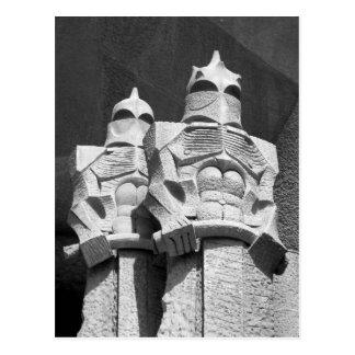 Postal romana de los guardias