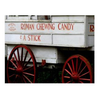 Postal romana del caramelo