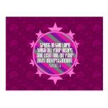 Postal (rosada) del 3:5 de los proverbios
