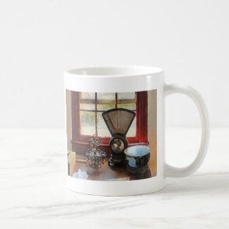 Postal Scale and Rubber Stamps Coffee Mugs