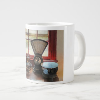 Postal Scale and Rubber Stamps Jumbo Mug