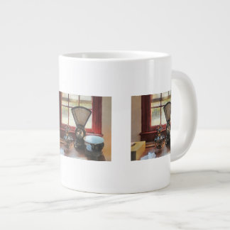 Postal Scale and Rubber Stamps Jumbo Mugs