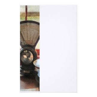 Postal Scale and Rubber Stamps Stationery
